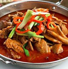 鲜味老鸭锅